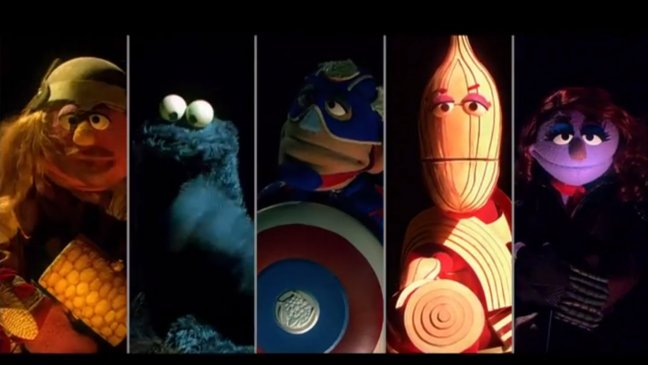 Sesame Street The Aveggies Parody