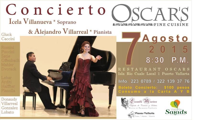 Concierto de Icela Villanueva y Alejandro Villareal