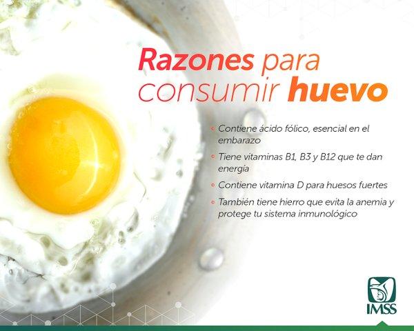 Razones para consumir huevo
