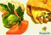 Croissant. Vallarta Salads