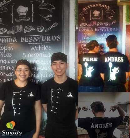 Dia del Cocinero... Tere y Andres